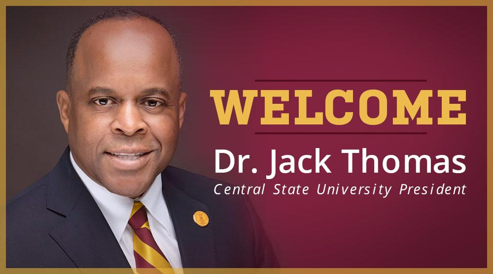 Welcome President Jack Thomas
